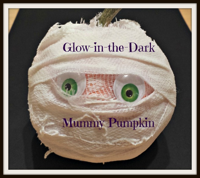 Glow Mummy Pumpkin Icon
