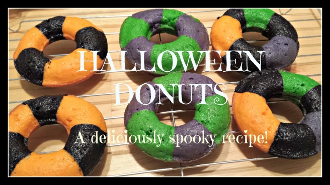 Halloween Donut Graphic