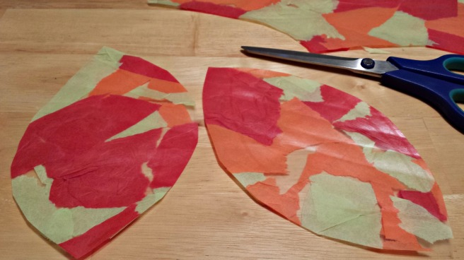 completed leaves